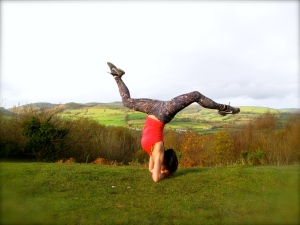 Sirasana, full headstand
